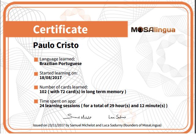 97% OFF MosaLingua Discount Code On May 2021