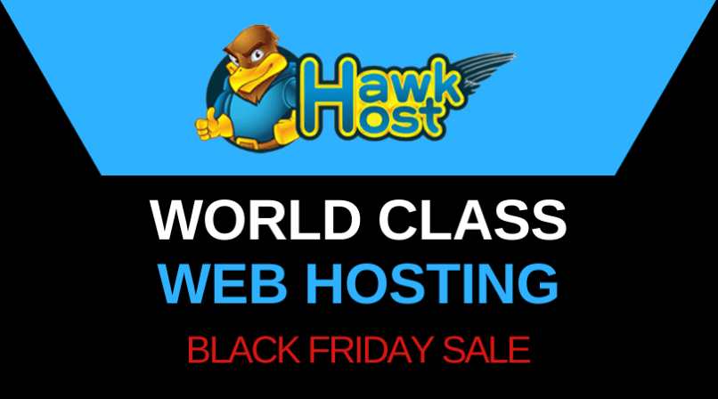 HawkHost Black Friday Sale 2020 - Up To 70% OFF Hosting