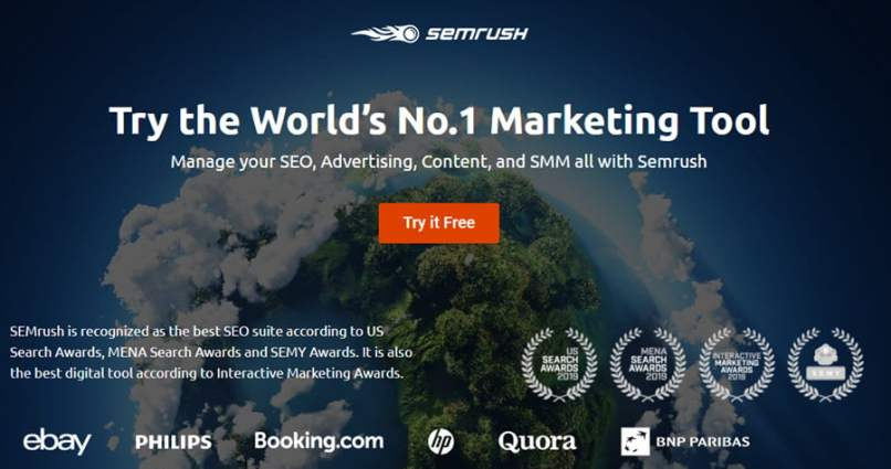 SEMrush Promo Code - Free Trial Offer On May 2021