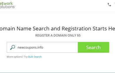 networksolutions domains for $5