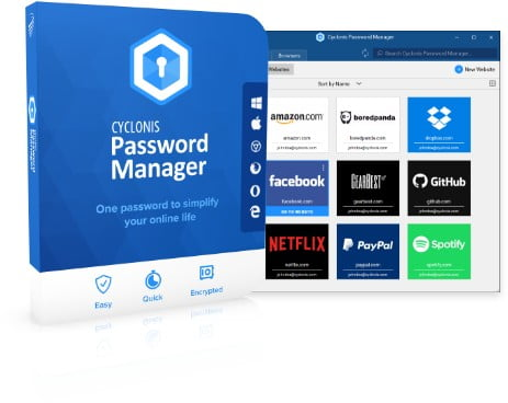 83% OFF | $29 Cyclonis Password Manager Lifetime Deal On May 2021