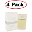4 Pack of Azzaro Pour Elle by Azzaro Eau De Parfum Refillable Spray 2.5 oz for $183