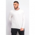 Alfani Men's Layered-Look T-Shirt  white Size 2 Extra Large for $94