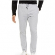 Alfani Men's Stretch Stripe Knit Drawstring Pants Gray Size Large for $94