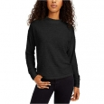 Hippie Rose Juniors' Women's Cozy Mock-Neck Ribbed Top Black Size Extra Small for $34