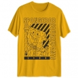 Hybrid Men's Spongebob I'm Ready Graphic T-Shirt Yellow Size Small for $23