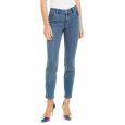 INC International Concepts Women's Petite Embellished-Front Skinny Jeans Blue Size 2 P for $119