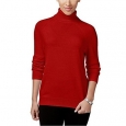 Karen Scott Women's Petite Luxsoft Turtleneck Sweater Red Size Small for $34