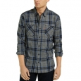 Levi's Men Crance Plaid Flannel Shirt Gray Size XX-Large for $94