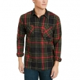 Levi's Men's Malden Plaid Shirt Red Size Small for $94