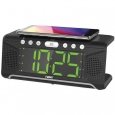 Naxa NRC190 Dual Alarm Clock with Qi Wireless Charging for $39