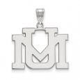 NCAA 10k White Gold U. of Montana Large Pendant for $464