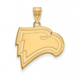 NCAA 14k Gold Plated Silver Winthrop U. Large Pendant for $61