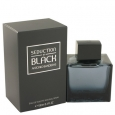 Seduction In Black by Antonio Banderas Eau De Toilette Spray 3.4 oz for Men (Package of 2) for $39