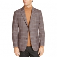 Tommy Hilfiger Men's Modern-Fit Thflex Stretch Sport Coats Brown Size 48 for $219