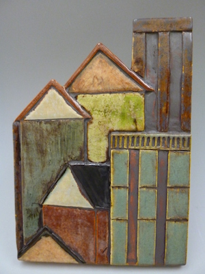 Ceramic tile by Mary Gawlik