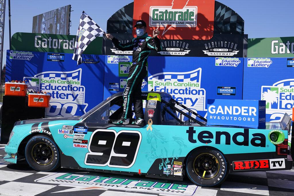 Ben Rhodes takes surprise Truck win at Darlington in OT