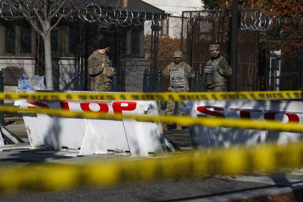 Guard in DC forced to sleep in garages, sparking outcry – New Delhi Times