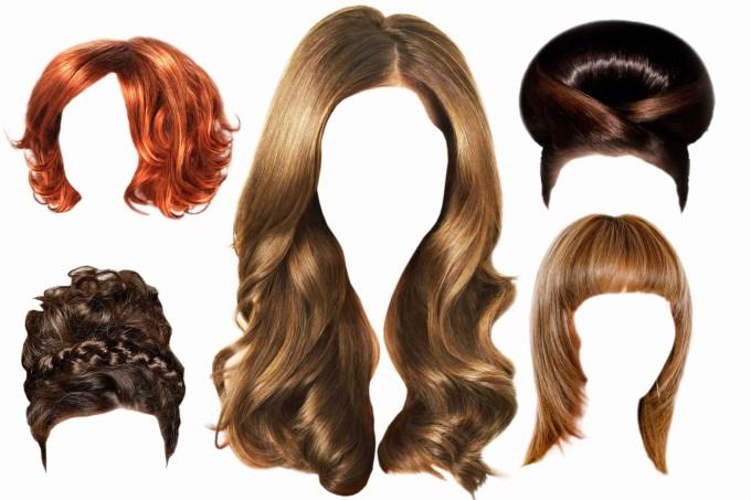 10 boys hair psd files images - justin bieber hair template