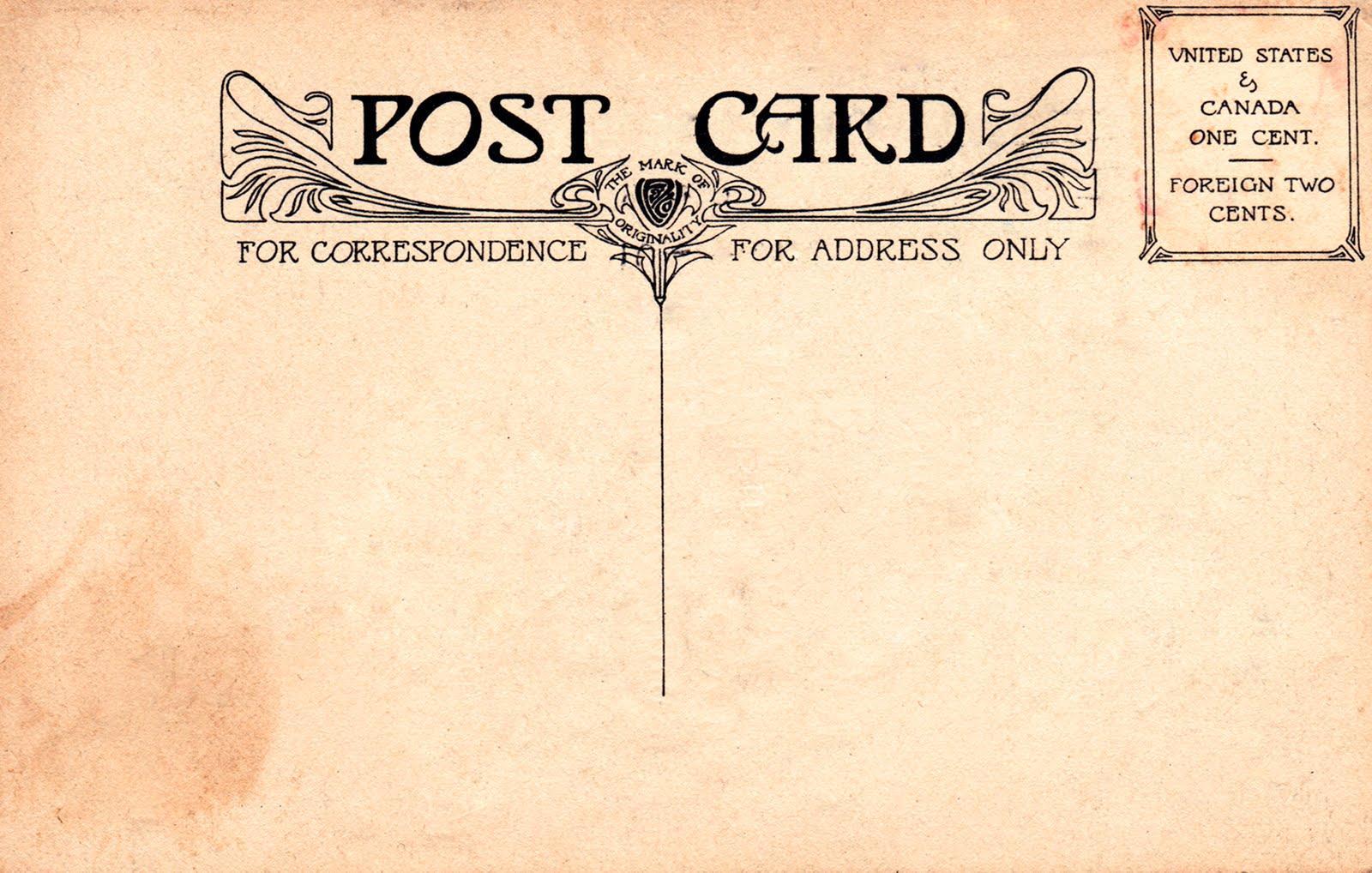 10 Retro Postcard Font Images