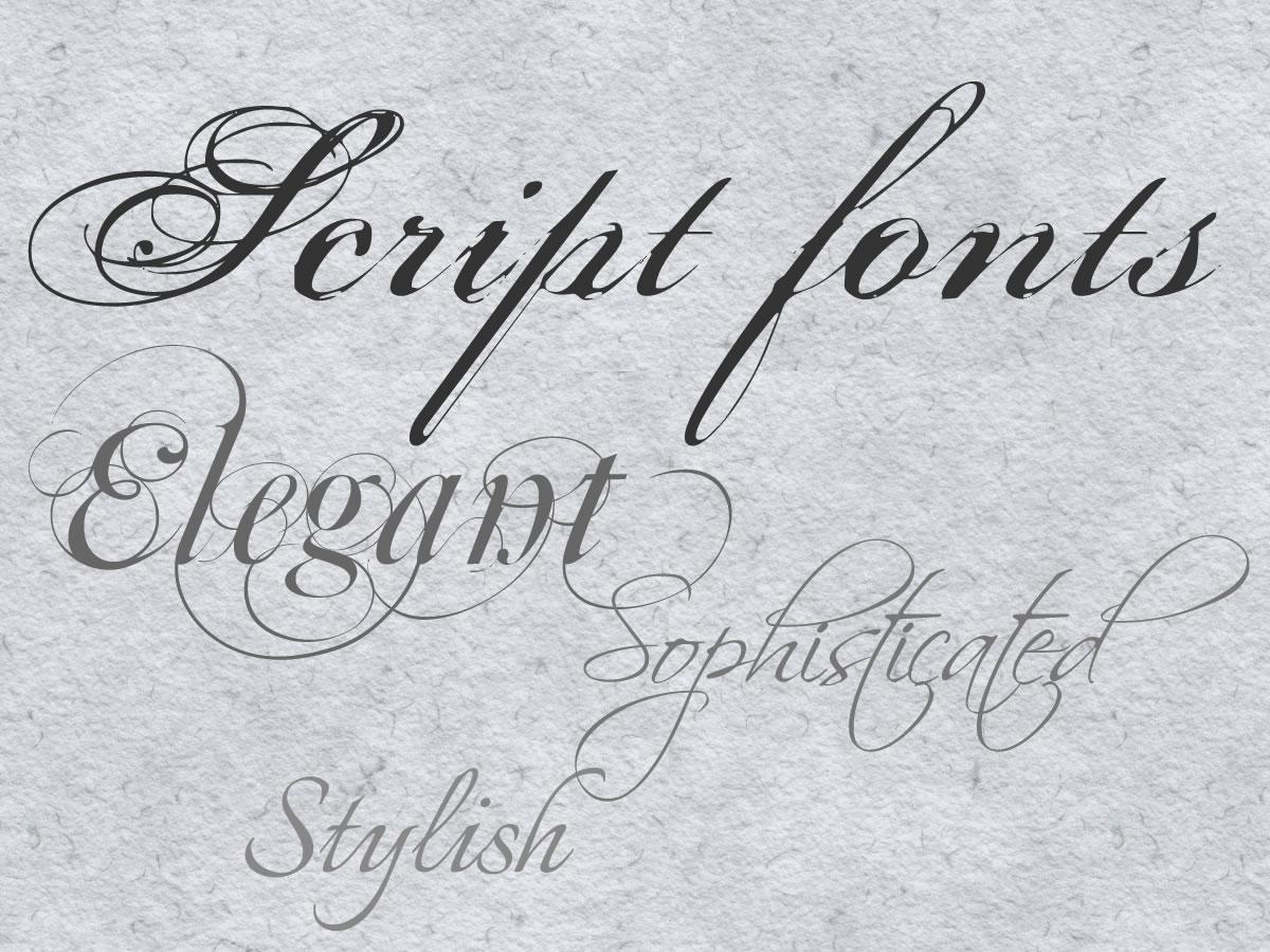 Elegant Free Wedding Fonts   Wiring Diagram Database