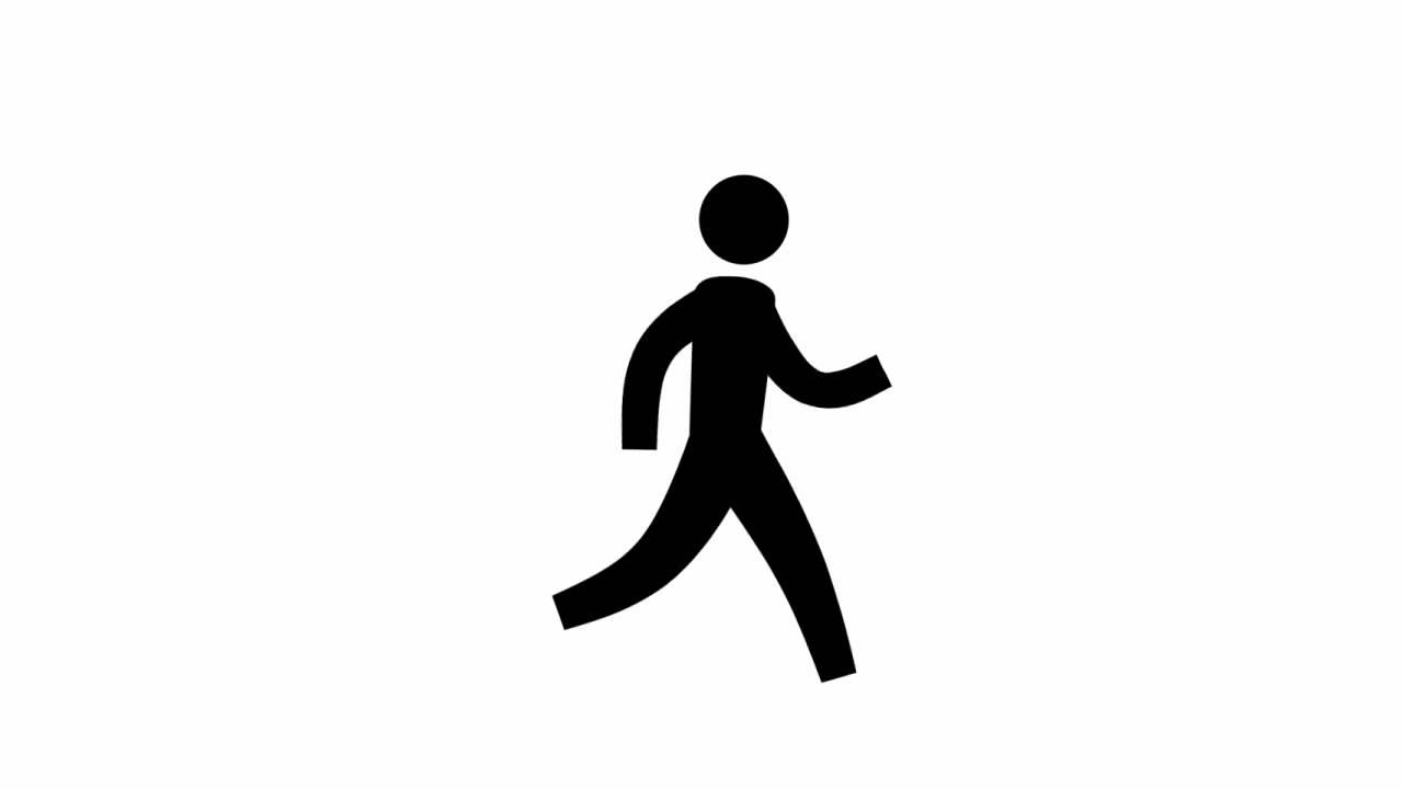 Stick Figure Person Walking Away Stick Man Walking Away