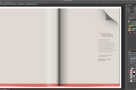 Outstanding Photoshop Magazine Template Image - Resume Ideas ...
