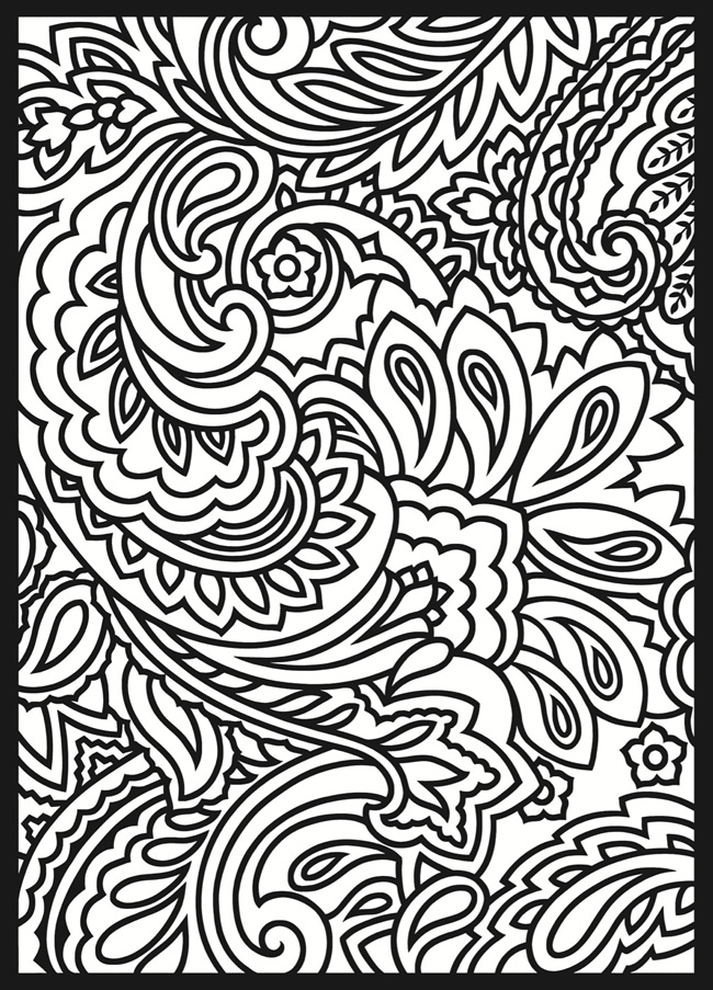12 Paisley Design Coloring Pages Animals Images Paisley Pattern Coloring Pages Paisley Designs Coloring Pages And Paisley Designs Coloring Pages Newdesignfile Com