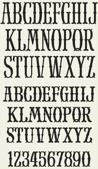 Alphabet Typography Fonts Victorian