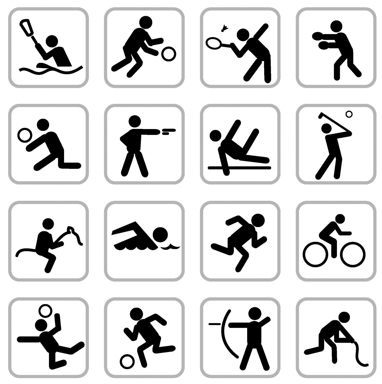 14 Sports Icon Symbols Images
