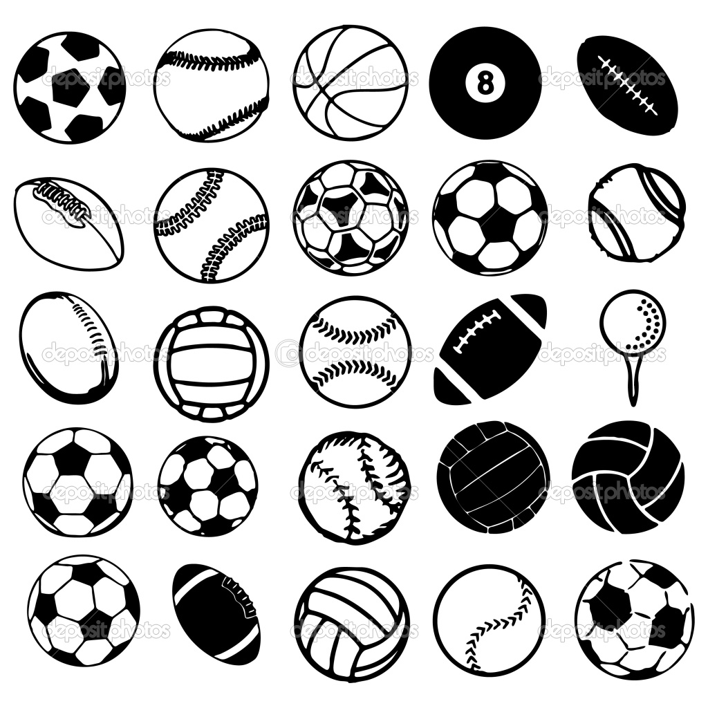 19 Sports Balls Vector Images