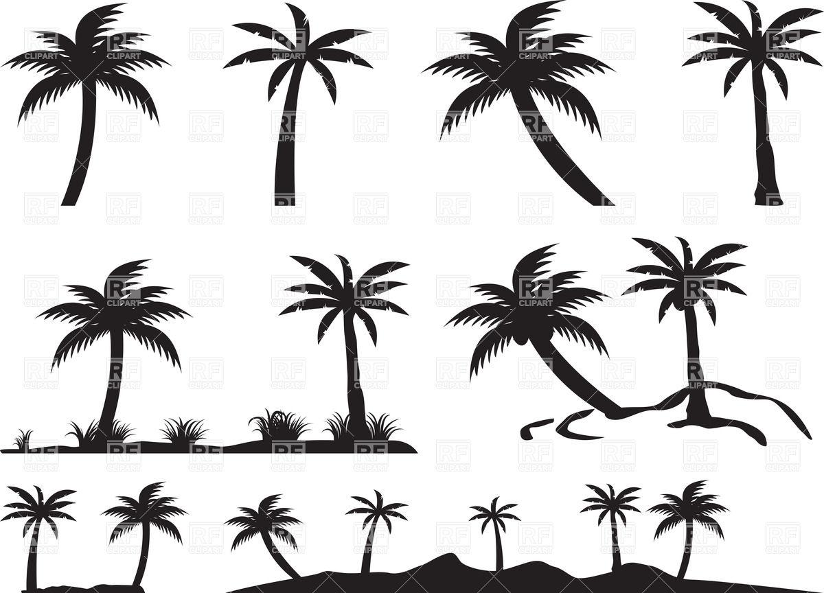 Island Clip Art Silhouette Cliparts