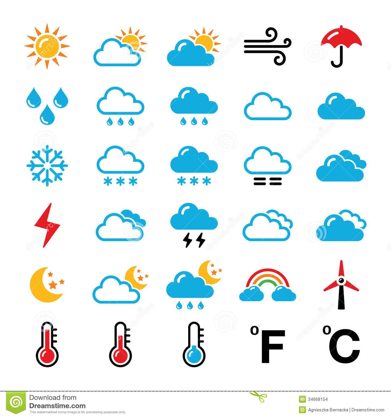 Worksheet On Weather Symbols