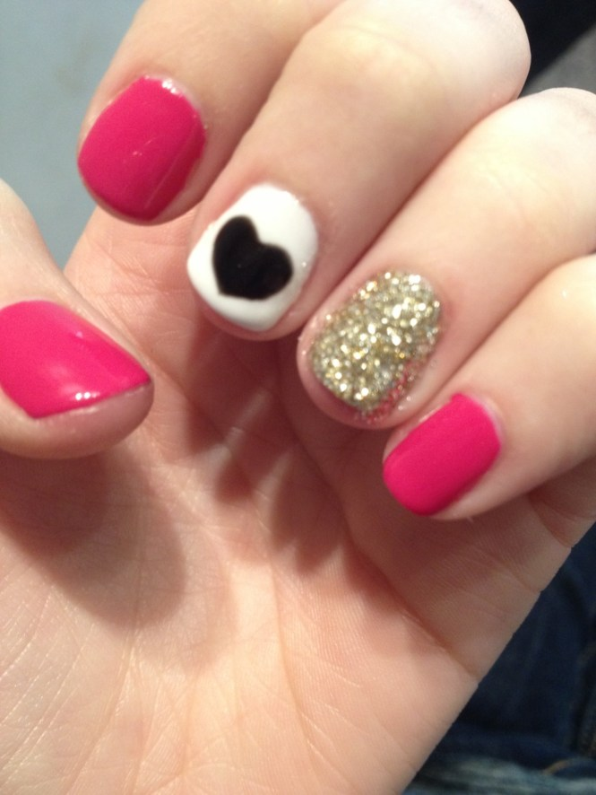 Simple Winter Nail Art Ideas For Short Nails 49