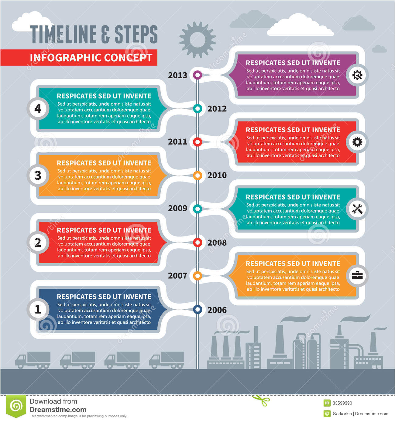Infographic Project Timeline