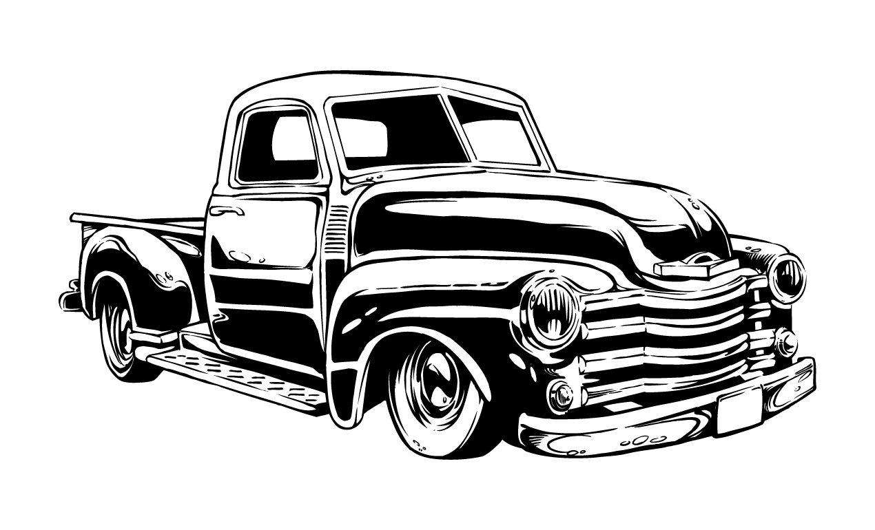 16 Classic Car Vehicle Vector Graphics Images