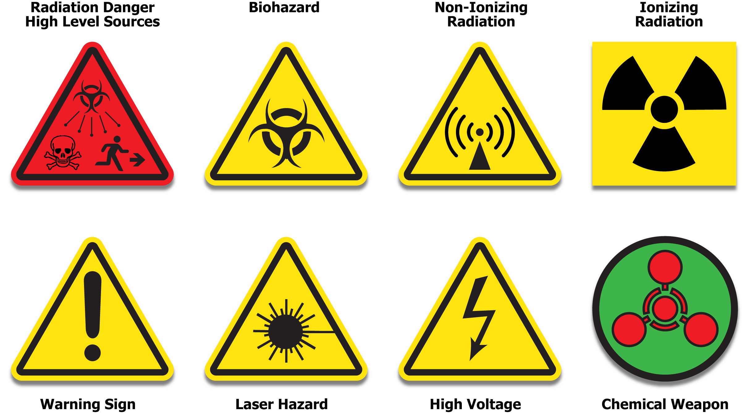 12 Safety Icon Symbols Images