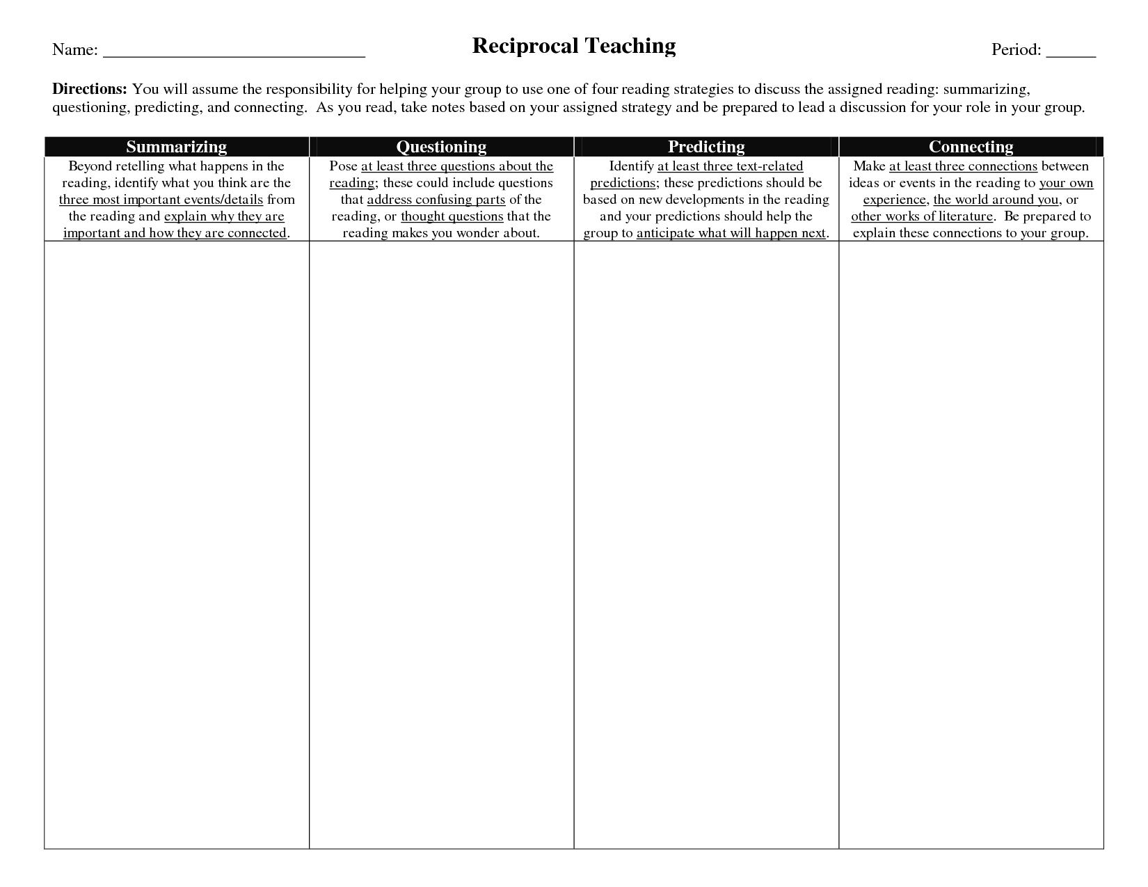 15 Graphic Organizers For Teachers Images