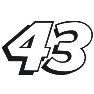10 NASCAR Number Font Lists Images - NASCAR Car Number 42, NASCAR Drivers Car Numbers and NASCAR ...