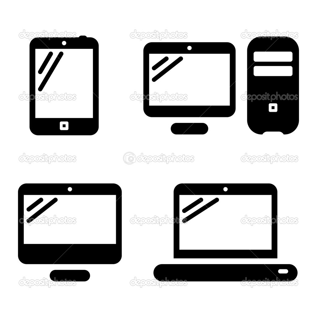 14 Pc Icon Vector Images