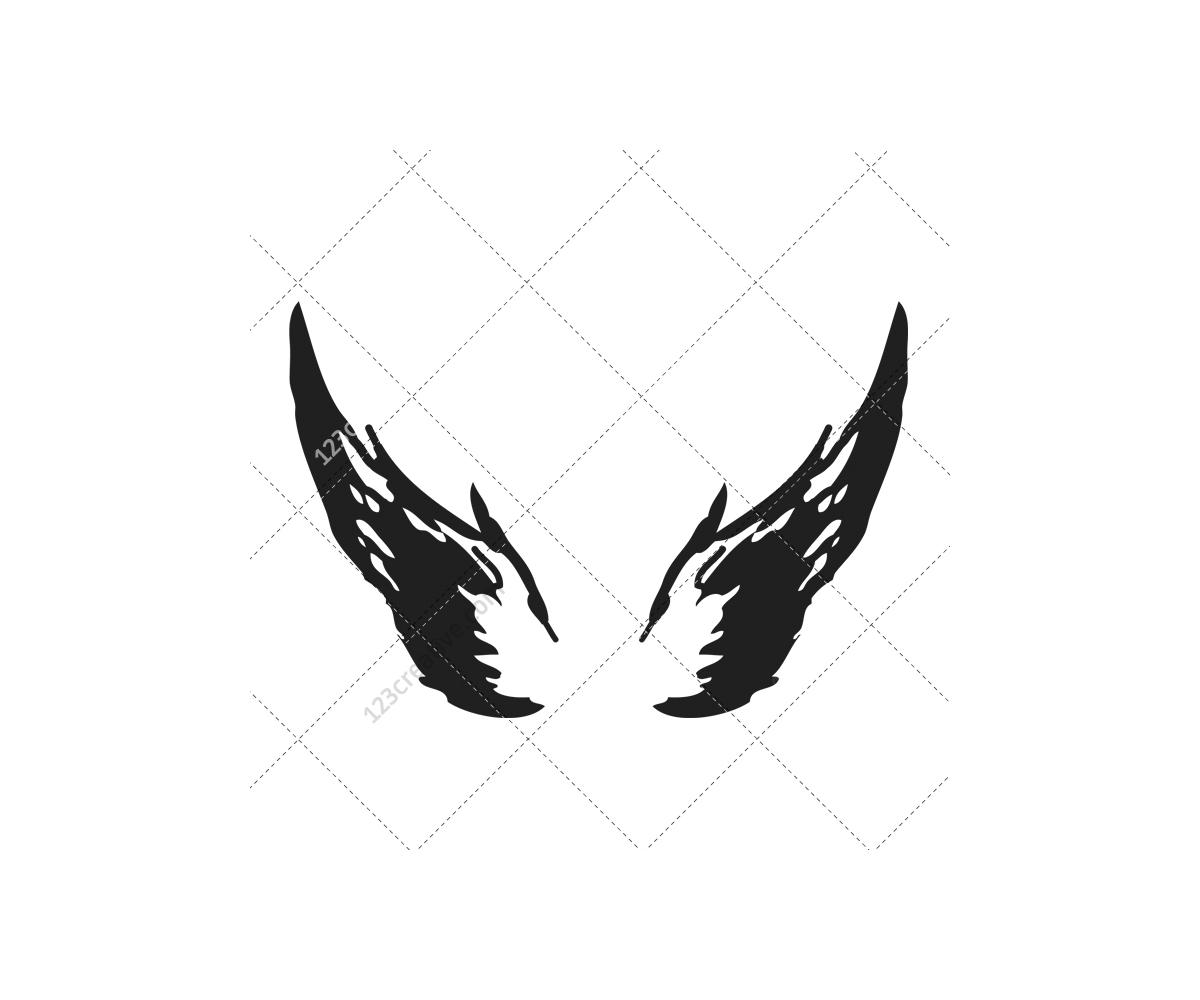 15 Baby Angel Wings Vector Art Images