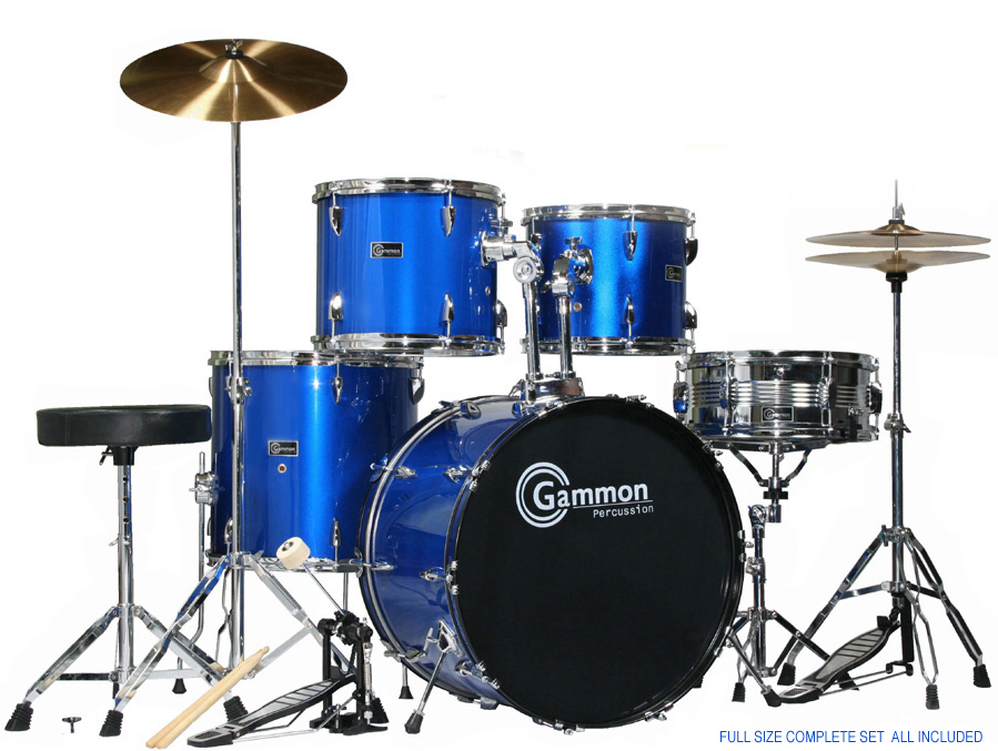 Drum Set Sale   New Discount Cheap Wholesale   Best Sale Prices     Gammon Percussion Model SR 1000 20 Lug FULL SIZE Complete Drum Set SUPER  SALE  288 00 FREE SHIPPING   TOP RATED Features include  5 1 2  x 14 All  Chrome 6