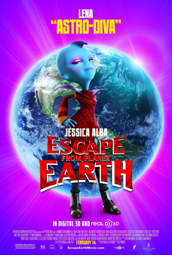 Escape from Planet Earth DVD Release Date Redbox