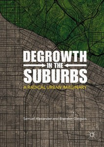 Degrowth in the Suburbs - book cover