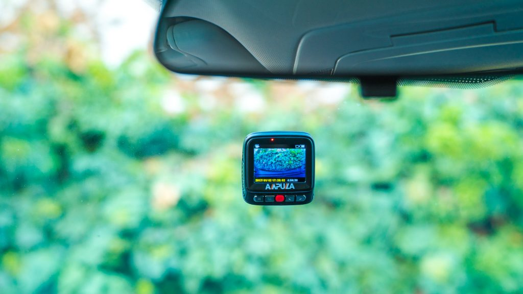 "Dash cams, Ampulla, auto electronics. The Ampulla Cruiser goes for a more covert design, using the ""wedge"" style dash cam to adhere directly to the windshield."