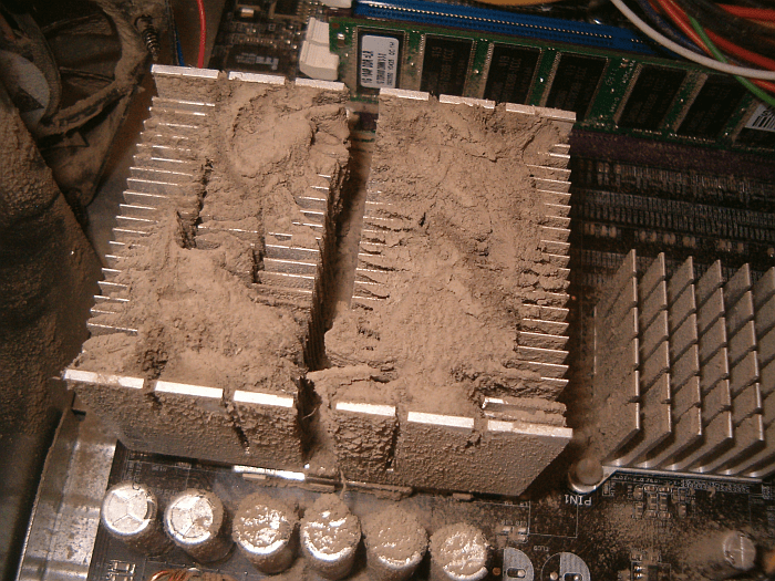 dusty heatsink