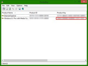 Recover Your Product Key - Step 5