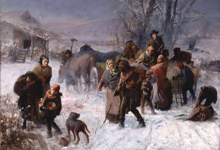 The Underground Railroad by Charles T. Webber