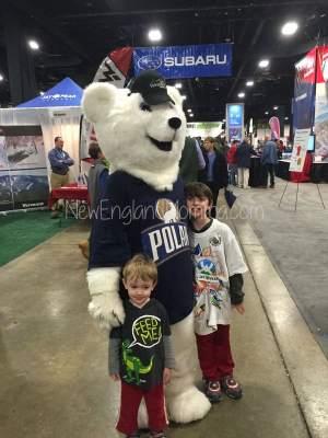 polar cola mascot