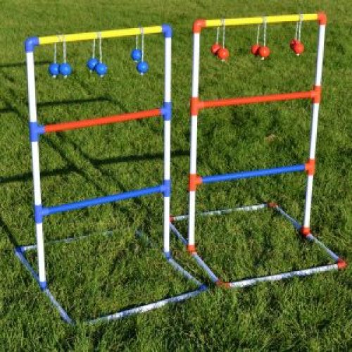 Ladder Ball or Monkey Ball - A Great game for kids or adults while camping.